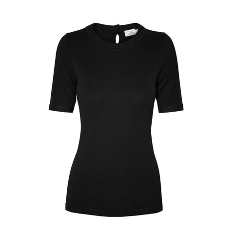 tierney top in black