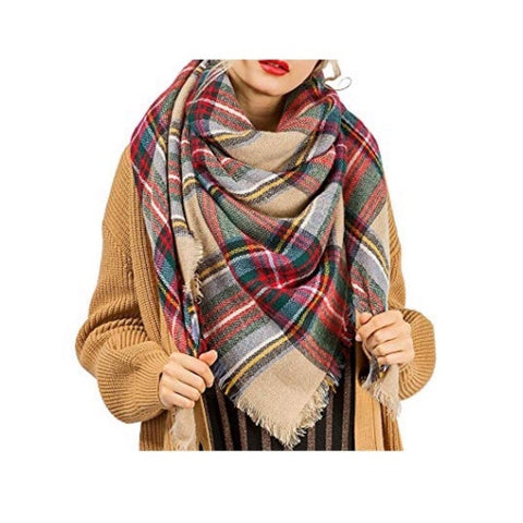 the plaid pashmina