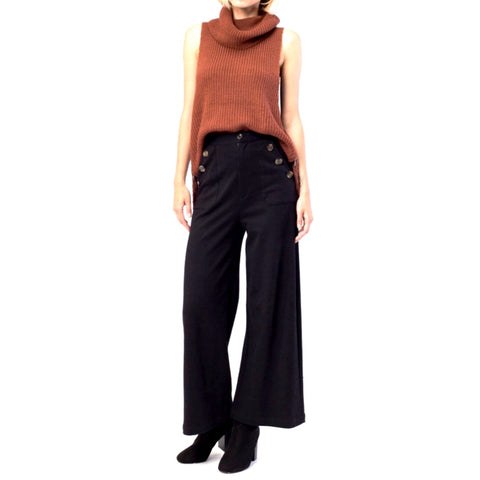 matelot trousers in black