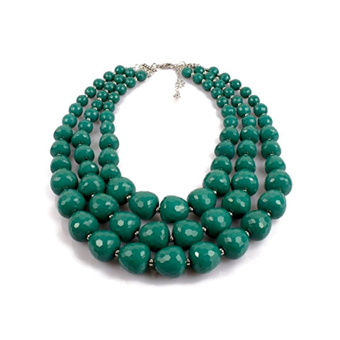 sea garden statement necklace