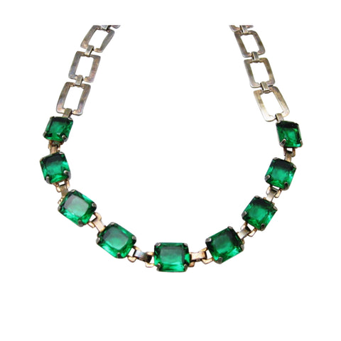 vintage 1920's deco necklace