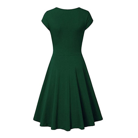 choreography dress in loden