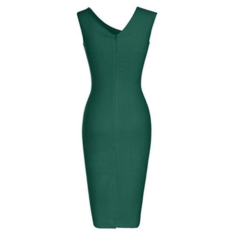 asymmetric sheath in ivy