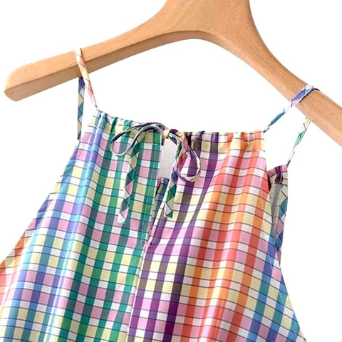 in rainbows sundress