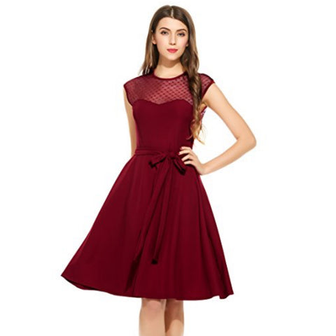 sweetheart dress in raspberry