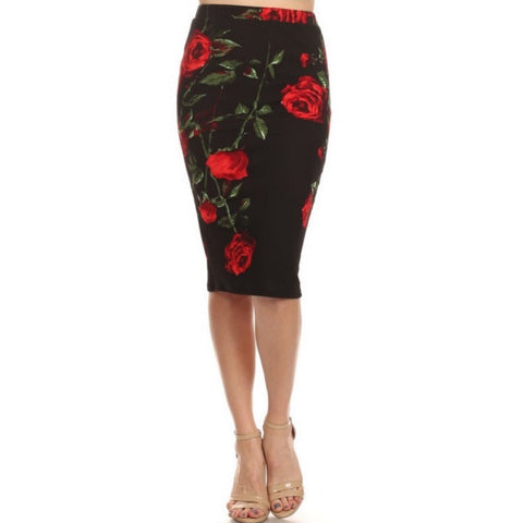 still life pencil skirt