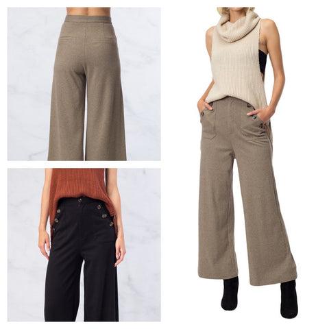 matelot trousers in herb