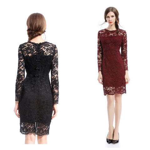 final sale | gallery dress in claret