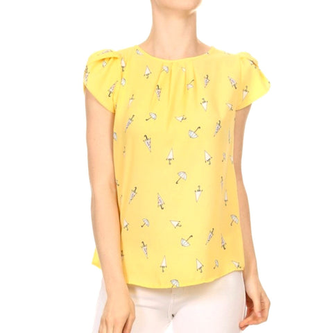 parapluie top in daffodil
