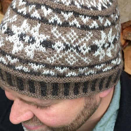 Pacific Northwest Shetland Hat - Pattern