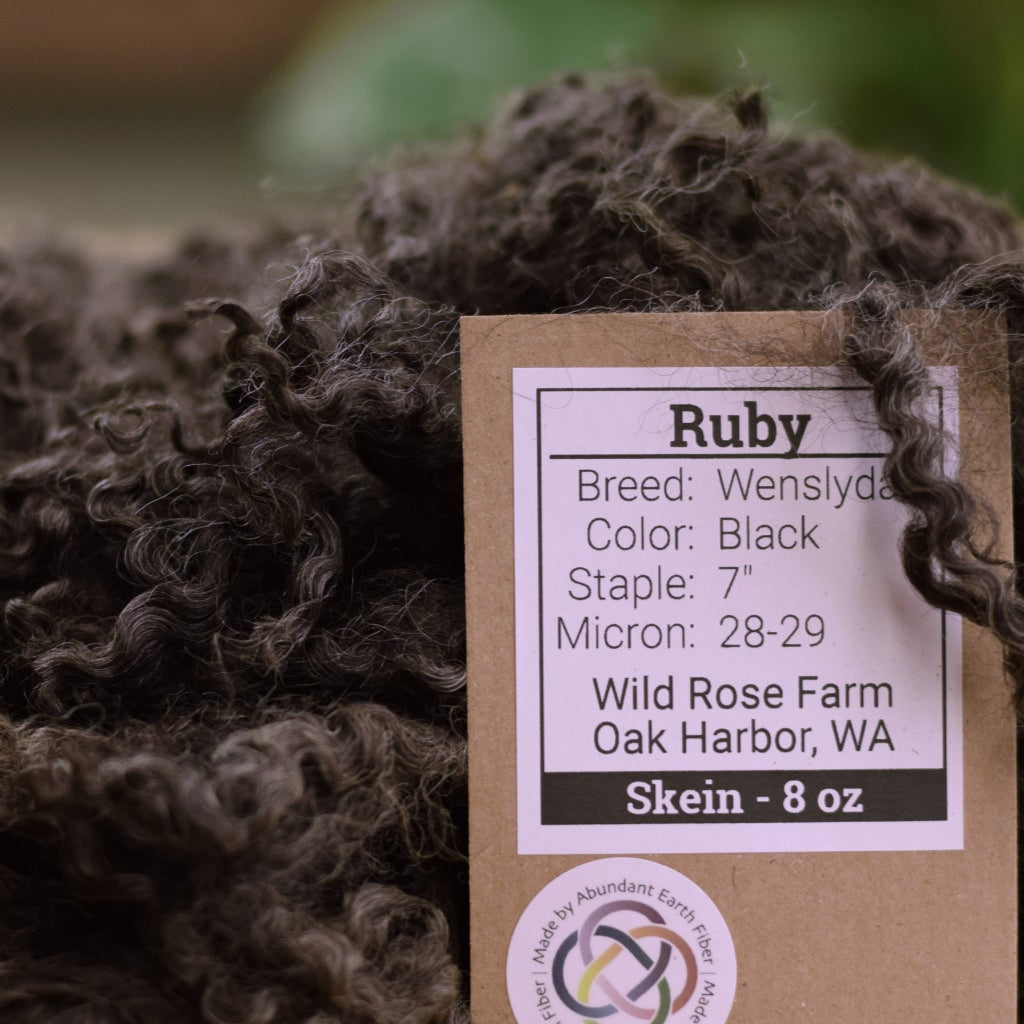 Raw Wool - Wensleydale