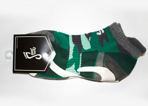 1 Pair Squat-Socks Camo