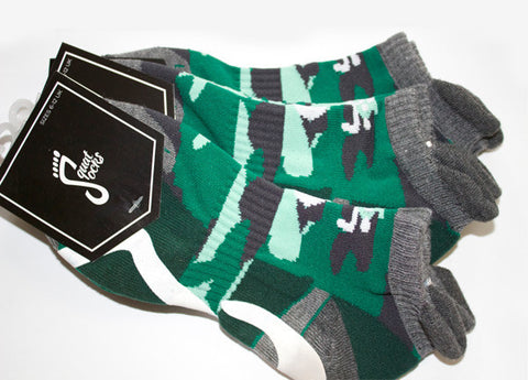 3 Pairs of Squat-Socks Camo