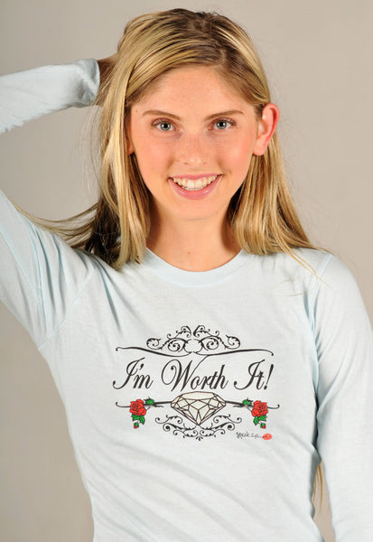 I'm Worth It! Women's Speak Life T-Shirt