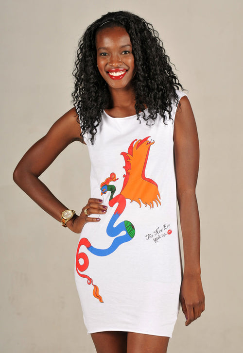The Chinese Phoenix Speak Life T-Shirt Dress