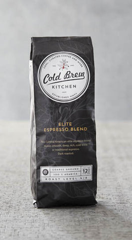 Cold Brew Kitchen Elite Espresso Coarse Ground Coffee