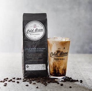 Cold Brew Kitchen Roastmaster's Blend Coarse Ground Coffee - Organic and Fair Trade