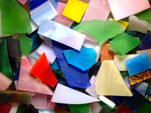 Scrap Glass - Tumbled