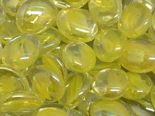 Clear Gems with Yellow Cat's Eye