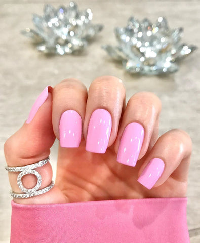 pastel pink manicure by Ani @bam_glam_nails