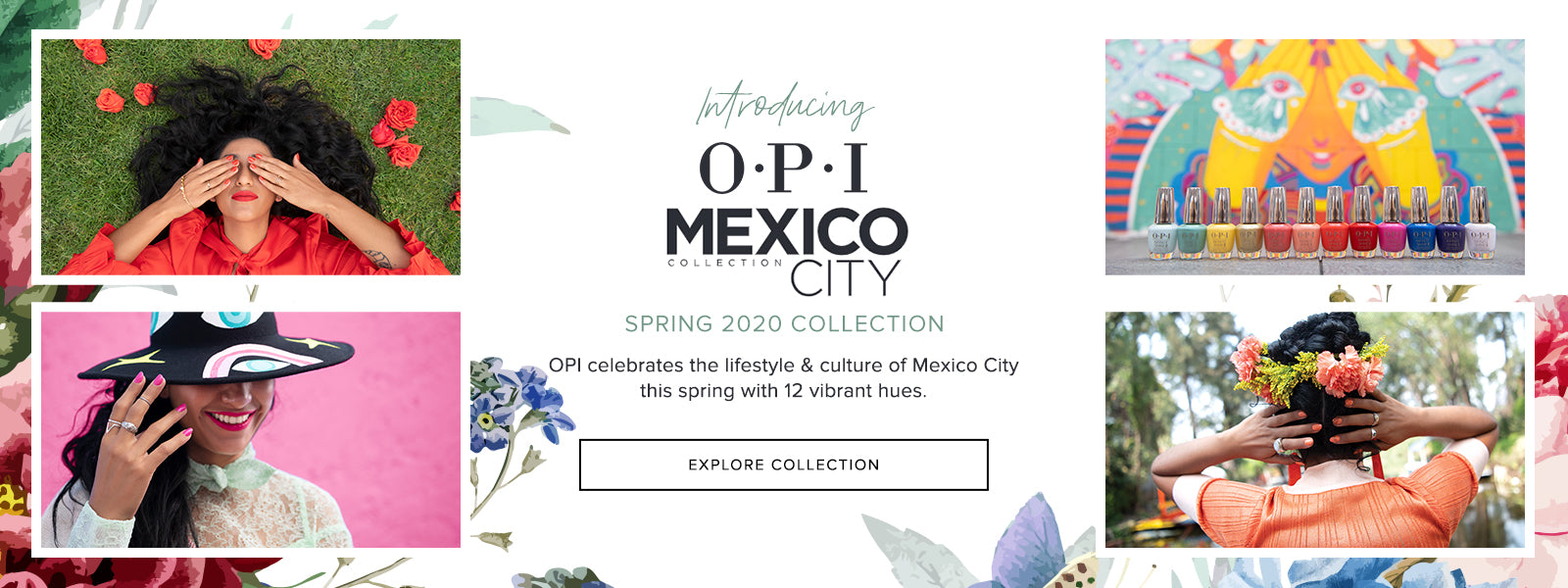OPI Mexico City Collection - 2020 Spring Nail Colors | Beyond Polish