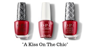 OPI Hello Kitty - A Kiss On The Chic