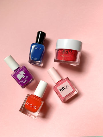The bold nail collection