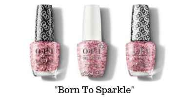 OPI Hello Kitty - Born To Sparkle