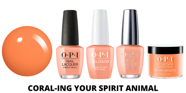 OPI Coral-ing Your Spirit Animal