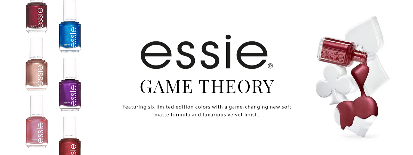 Essie Holiday 2019 Game Theory Collection