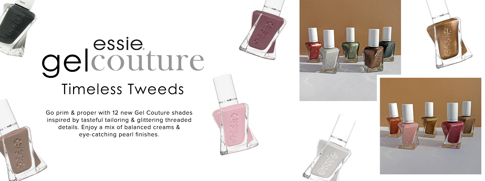 Essie Gel Couture Timeless Tweeds
