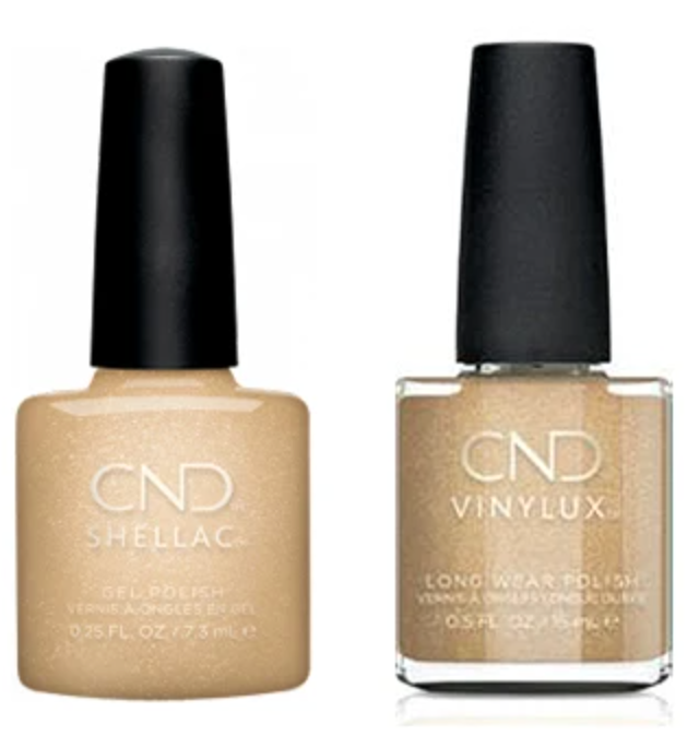 CND Shellac & Vinylux - Get That Gold