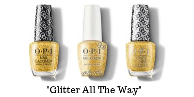 OPI Hello Kitty - Glitter All The Way
