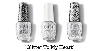 OPI Hello Kitty - Glitter To My Heart