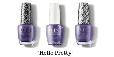 OPI Hello Kitty - Hello Pretty