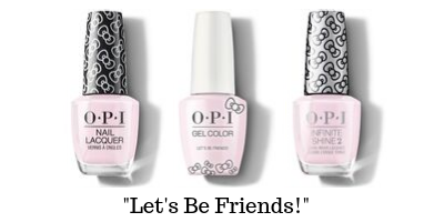 OPI Hello Kitty - Let's Be Friends