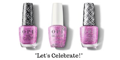 OPI Hello Kitty - Let's Celebrate