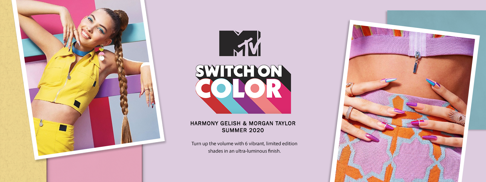 Gelish & Morgan Taylor MTV Switch On Color Summer 2020 Collection