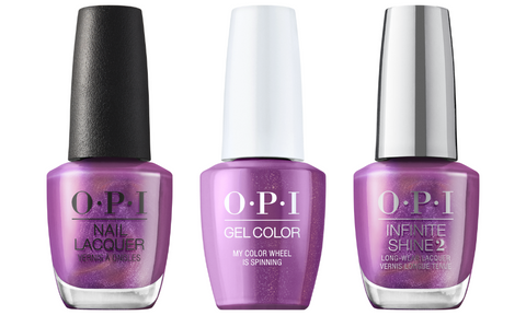 OPI My Color Wheel Is Spinning