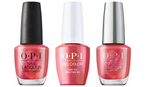 OPI Paint The Tinseltown Red