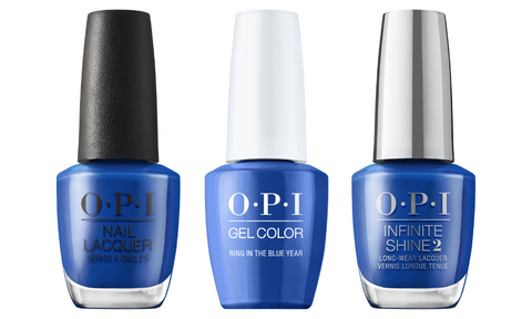 OPI Ring In the Blue Year
