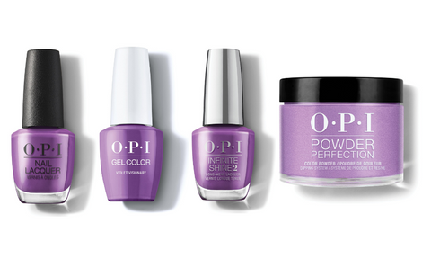 OPI Nail Lacquer, GelColor & Infinite Shine - Violet Visionary