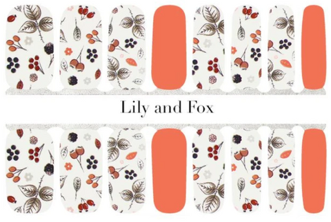 Lily and Fox nail wraps