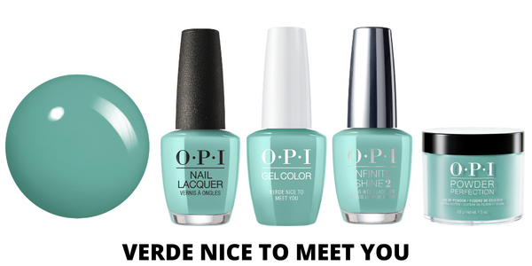 OPI Verde Nice To Meet You