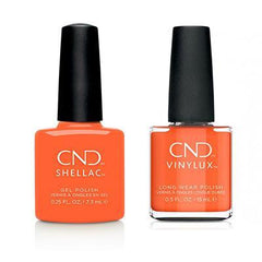 CND Shellac & Vinylux - B-day Candle