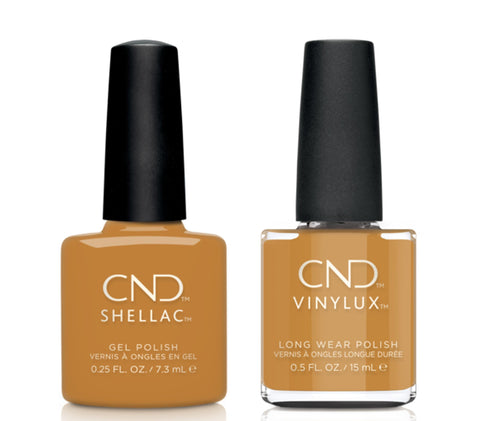 CND Shellac & Vinylux Combo - Candlelight