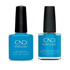 CND Shellac & Vinylux - Pop-Up Pool Party