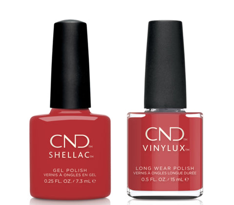 CND Shellac & Vinylux Combo - Soft Flame