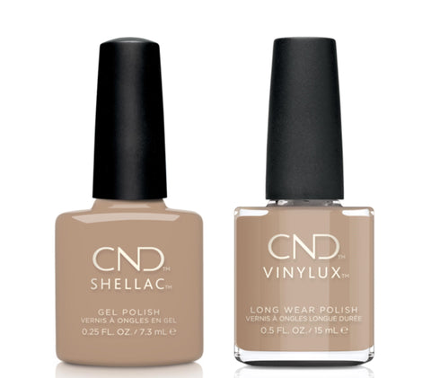 CND Shellac & Vinylux Combo - Wrapped In Linnen