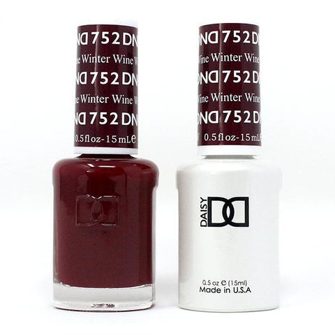 DND Gel & Lacquer Duo - Winter Wine